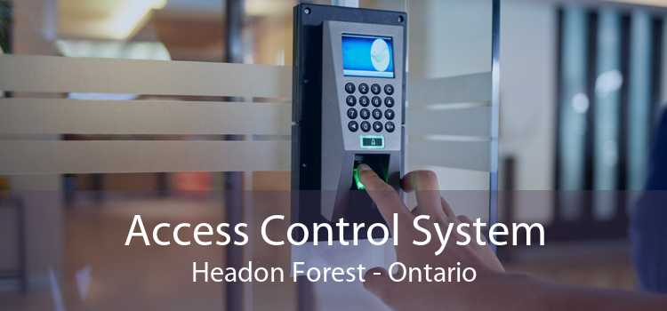 Access Control System Headon Forest - Ontario