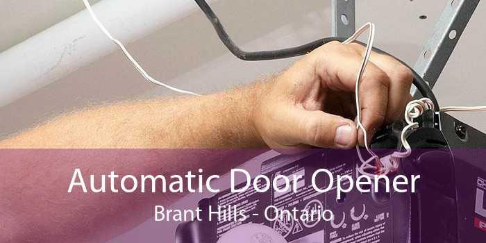 Automatic Door Opener Brant Hills - Ontario