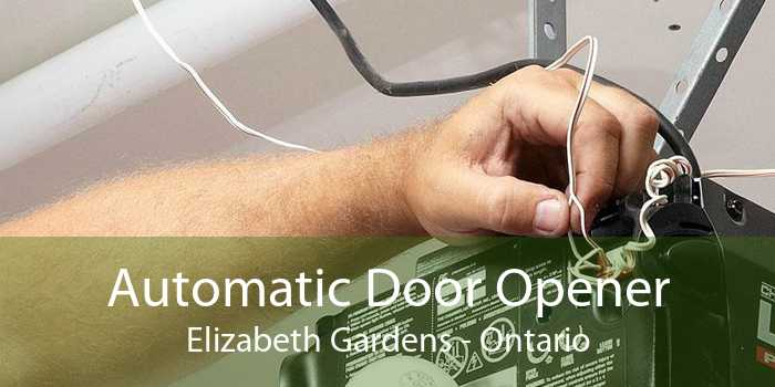 Automatic Door Opener Elizabeth Gardens - Ontario