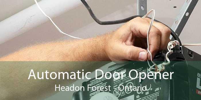 Automatic Door Opener Headon Forest - Ontario
