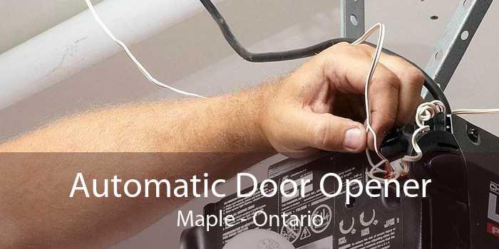 Automatic Door Opener Maple - Ontario