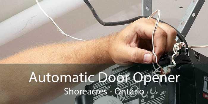 Automatic Door Opener Shoreacres - Ontario