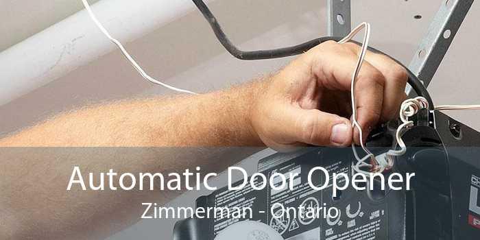 Automatic Door Opener Zimmerman - Ontario