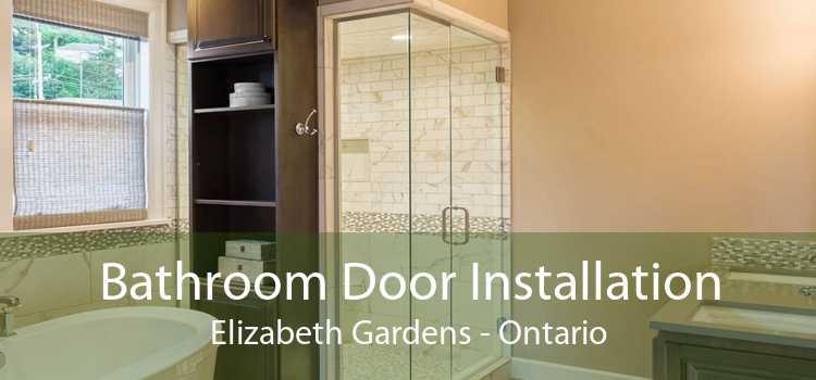 Bathroom Door Installation Elizabeth Gardens - Ontario