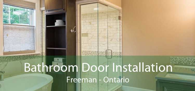 Bathroom Door Installation Freeman - Ontario