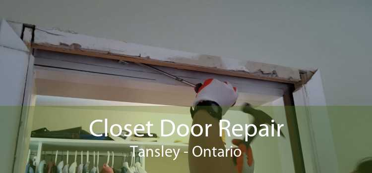 Closet Door Repair Tansley - Ontario