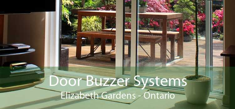 Door Buzzer Systems Elizabeth Gardens - Ontario