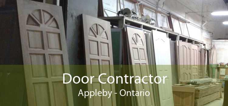 Door Contractor Appleby - Ontario