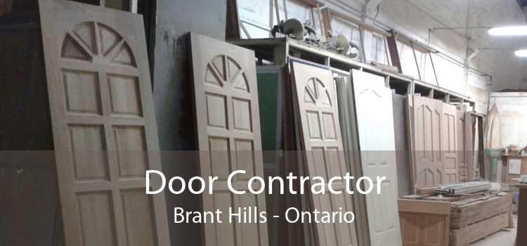 Door Contractor Brant Hills - Ontario