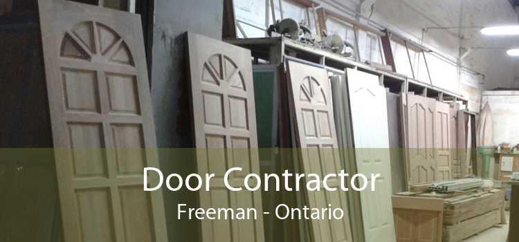 Door Contractor Freeman - Ontario