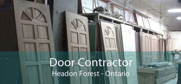 Door Contractor Headon Forest - Ontario