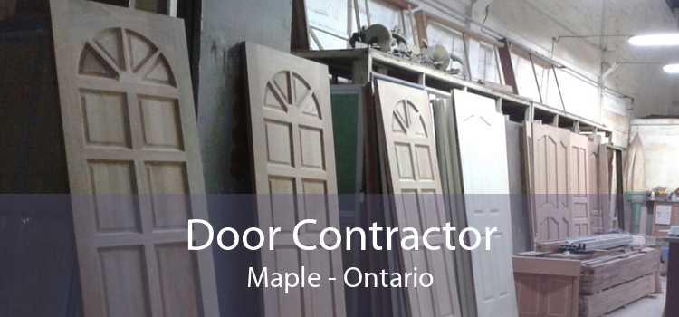 Door Contractor Maple - Ontario