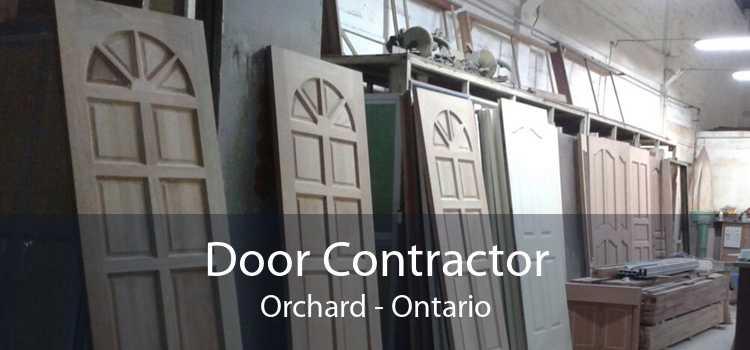 Door Contractor Orchard - Ontario