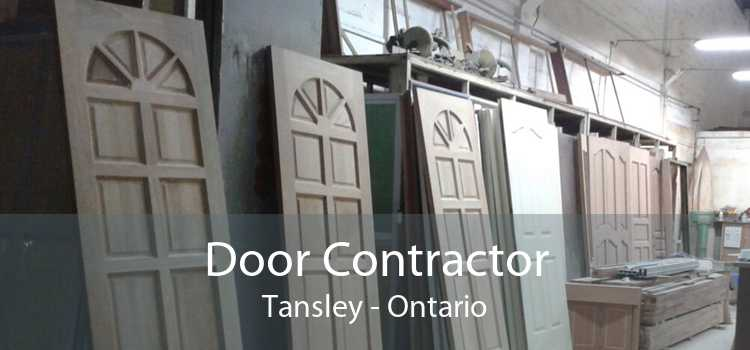 Door Contractor Tansley - Ontario