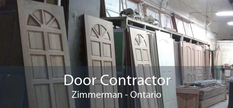 Door Contractor Zimmerman - Ontario
