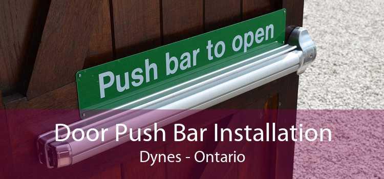 Door Push Bar Installation Dynes - Ontario