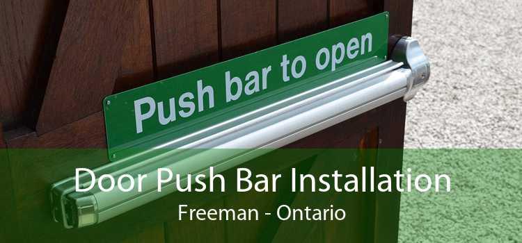 Door Push Bar Installation Freeman - Ontario