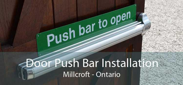 Door Push Bar Installation Millcroft - Ontario