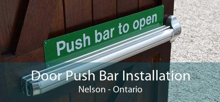 Door Push Bar Installation Nelson - Ontario