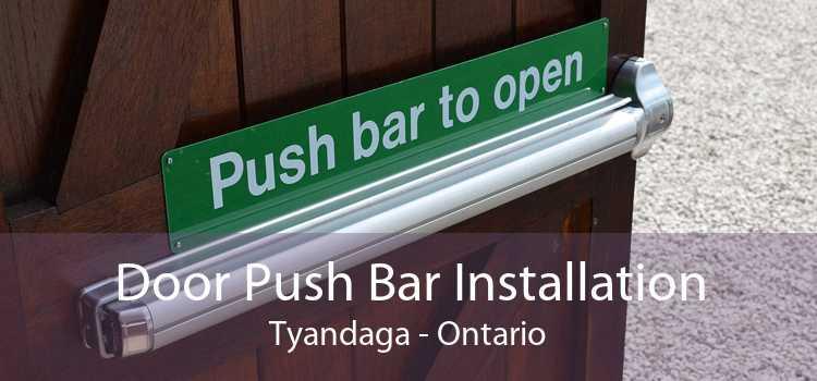 Door Push Bar Installation Tyandaga - Ontario