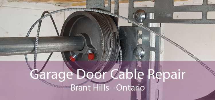 Garage Door Cable Repair Brant Hills - Ontario