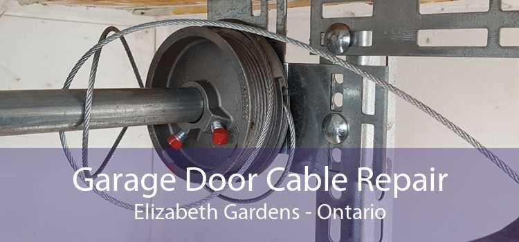 Garage Door Cable Repair Elizabeth Gardens - Ontario