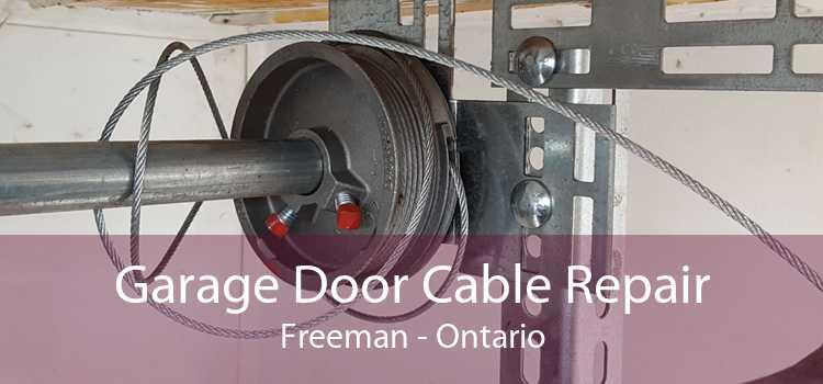 Garage Door Cable Repair Freeman - Ontario