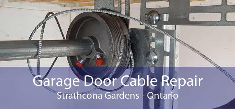 Garage Door Cable Repair Strathcona Gardens - Ontario