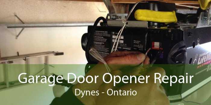Garage Door Opener Repair Dynes - Ontario