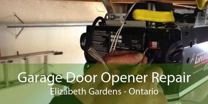 Garage Door Opener Repair Elizabeth Gardens - Ontario