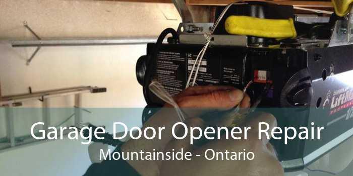 Garage Door Opener Repair Mountainside - Ontario