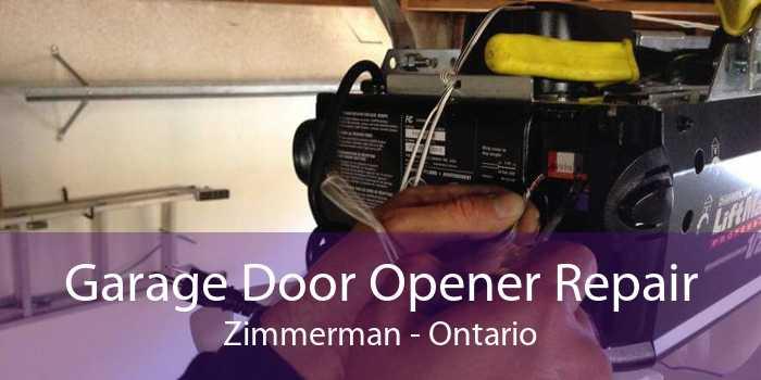 Garage Door Opener Repair Zimmerman - Ontario