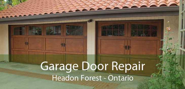 Garage Door Repair Headon Forest - Ontario