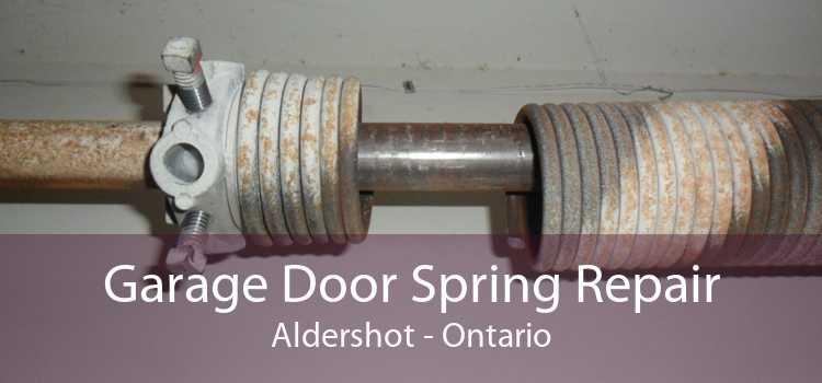 Garage Door Spring Repair Aldershot - Ontario