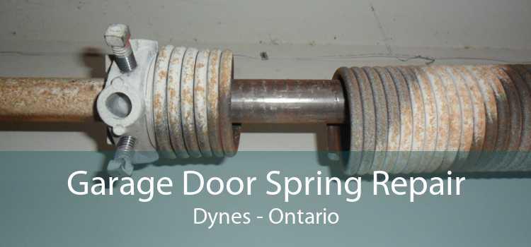 Garage Door Spring Repair Dynes - Ontario