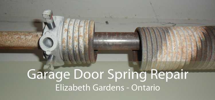 Garage Door Spring Repair Elizabeth Gardens - Ontario
