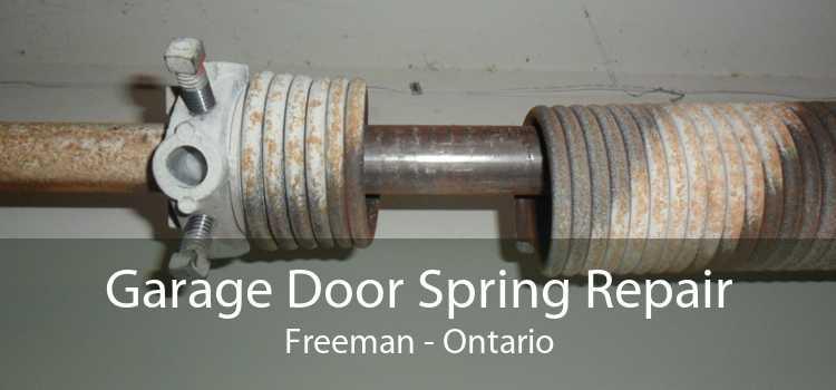 Garage Door Spring Repair Freeman - Ontario