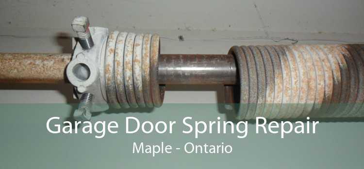 Garage Door Spring Repair Maple - Ontario