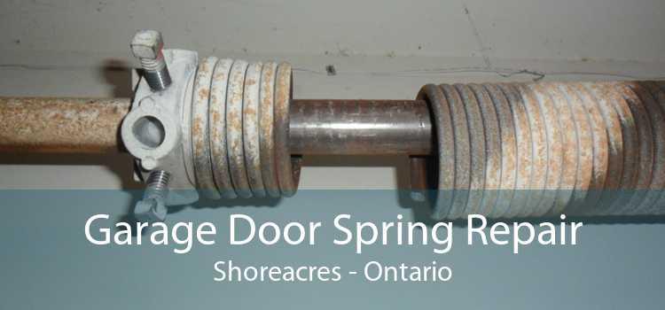 Garage Door Spring Repair Shoreacres - Ontario