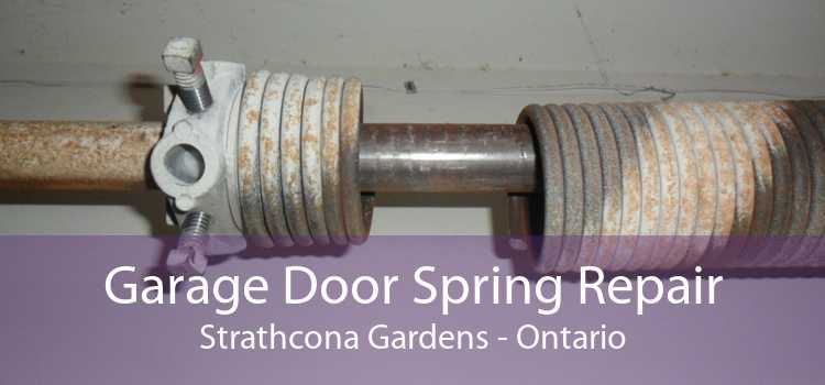 Garage Door Spring Repair Strathcona Gardens - Ontario