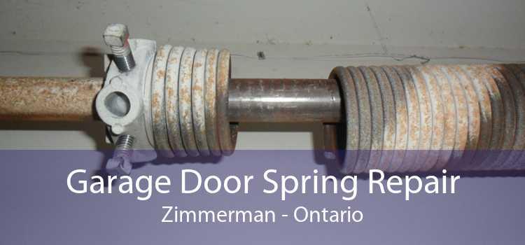 Garage Door Spring Repair Zimmerman - Ontario