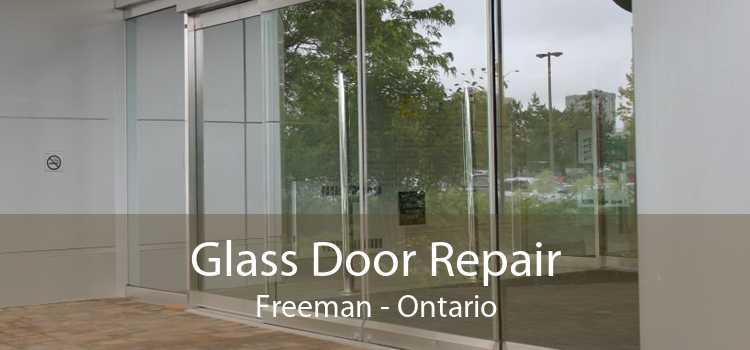 Glass Door Repair Freeman - Ontario