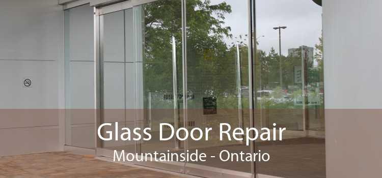 Glass Door Repair Mountainside - Ontario