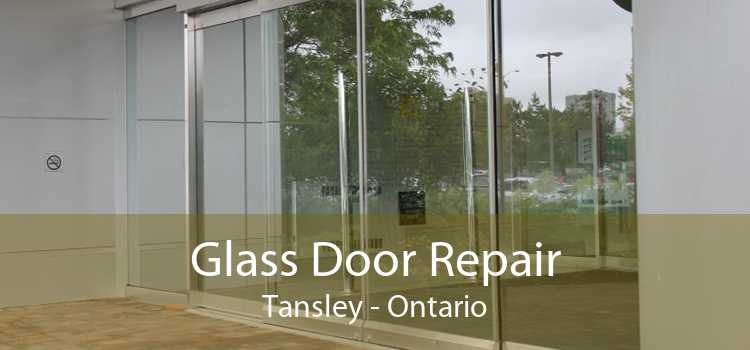 Glass Door Repair Tansley - Ontario
