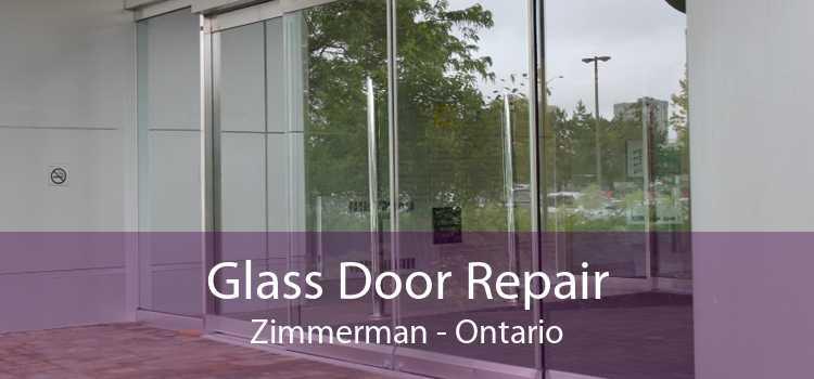 Glass Door Repair Zimmerman - Ontario