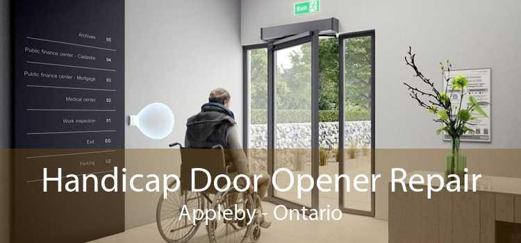 Handicap Door Opener Repair Appleby - Ontario