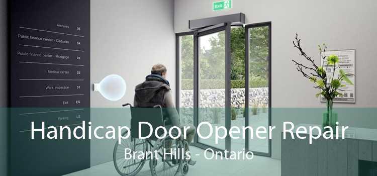 Handicap Door Opener Repair Brant Hills - Ontario