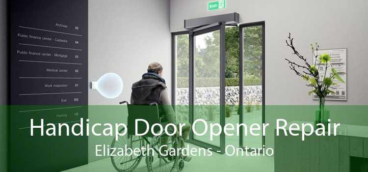 Handicap Door Opener Repair Elizabeth Gardens - Ontario