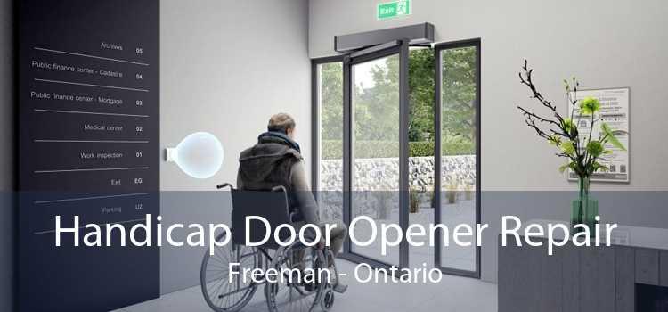 Handicap Door Opener Repair Freeman - Ontario