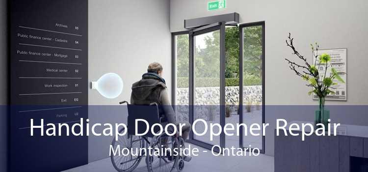 Handicap Door Opener Repair Mountainside - Ontario